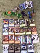 Bakugan Figure Lot Of 20 Plus Cards And Figures. Check It Out