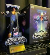 Wwe Icons Series Undertaker Statue By Mcfarlane Special Edition 651/750 New Wwf
