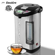 Eavaire Electric Hot Water Urn Thermo-pot Boiler And Warmer, Tea And Coffee Kettle,