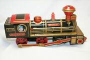 Toy Battery Operated Vintage Locomotive. General W.a.r.r. / Working Condition