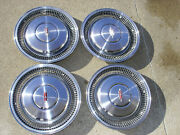 4 Vintage 16 Olds Oldsmobile Hubcaps / Covers - 70s - 80s In Super Condition