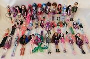 Huge Lot Of Monster High - Ever After Lot Of 40 Dolls Clothes Shoes Acc Rares