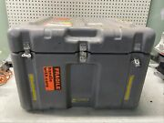 Grey Hardigg Pelican 1204 Medchest Military Medical Chest Hard Case Cool Storage