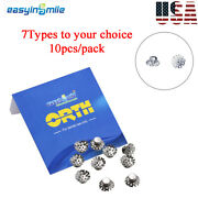 Orthodontic Supplies Dental Lingual Springs Size Option For Buttons Assist 10pcs
