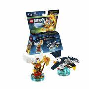Lego Dimensions Chima Fun Pack - Eagle Interceptor And Eris Collectible Figures