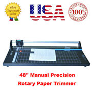 48and039and039 Precision Rotary Paper Cutter Trimmer Photo Paper Film Sharp Cutter - Usa