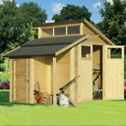 Rowlinson 7x10 Skylight Shed With Store - Natural
