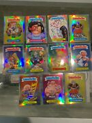 2013 Topps Chrome Refractor 11 Garbage Pail Kids Card Lot Mint A And B Series