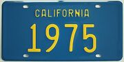 1975 California-style Novelty Plate For Chevrolet Dodge Ford Pontiac Buick Olds