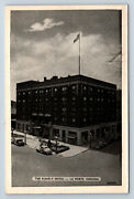 Vintage Postcard The Rumely Hotel La Porte Indiana Colonial Tap Room F3