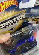Open Box/used Monster Jam 2017 Hot Wheels Son-uva Digger And Recrushable Car