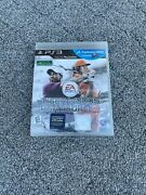 Tiger Woods Pga Tour 13 Sony Playstation 3 Factory Sealed Free Shipping