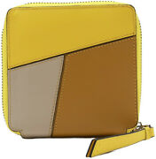 Loewe Womenand039s Puzzle Square Zip Leather Wallet