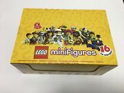 Lego Series 1 Minifigures Full Box Of 60 8683-18 Rare Brand New And Sealed