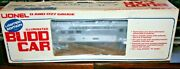 Lionel 6-8765 Budd Car Nonpowered In Ln Condition In Ob