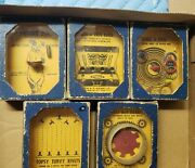 Lot Of 5 Ac Gilbert Antique Toy Dexterity Games Rare And Unusual