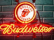 New Rolling Stones Lamp Neon Light Sign 14x10 Beer Cave Gift