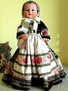 Vintage 15 French Celluloid Doll All Original Clothes W/tags
