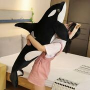 Big Whale Doll Pillow Orcinus Orca Shark | Plush Toy Kids Boys Girls Soft Toys
