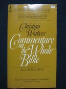Christian Workers' Commentary On The Whole Bible [mass Market Paperback] James..