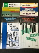 Piano Keyboard Method Lesson Instructional Practice Book Books