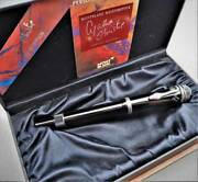 New Unused Limited Montblanc1993 Agatha Christie Fountain Pen 23-000 Limited