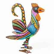 Charming Rooster - Oaxacan Alebrije Wood Carving