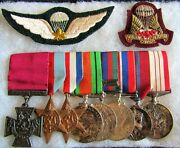 Ww 2 Canadian Vc Grouping Of Corporal F.g. Topham, Copy Vc W/research