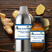Pure Ginger Co2 Extract Oil Zingiber Officinalis Natural Ayurveda Herbal Aroma