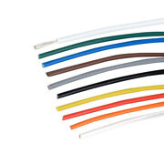 High Temp Ptfe Silver Plated Copper Wire Earphone Cable 0.12mmandsup2-10mmandsup2 Multicolor
