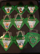 Disney 2020 Pin Trading 20th Anniversary Hinged Complete 9 Pin Set Le 4000