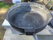 Corvette 1963 Spare Tire Carrier With Lid And V Bracket