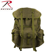 Rothco G.i. Type Large Alice Pack With Frame Od Green 2266