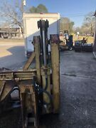 2x Hydraulic Cylinder From Case Log Grabber You Get To Ask Seen In Photo