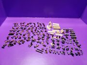 Wargame Accessories Army Figures Indians Lot Vintage 1990s Model Train Diorama