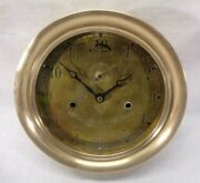 Vintage National Steam Specialty Edward Soph Company Brass Clock Steampunk Parts
