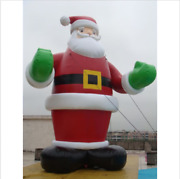 26ft 8m Inflatable Advertising Promotion Giant Christmas Santa Claus Free Blower