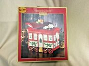Nib Spode Train Car With Lid Cookie Jarchristmas Treext8703-xpmsrp 160.00