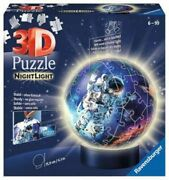 Ravensburger 3d Jigsaw Night Light Astronaut 3d Puzzle From 6 Years
