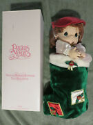 Holly 1999 Precious Moments Christmas Stocking Dolls 16 Limited Edition Qvc