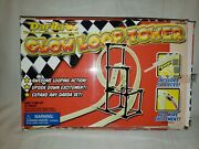 Rare Darda Glow Loop Tower - Toy Car Race Track - Discontinued - Complete