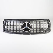 Glb 35 Amg Panamericana Grille With Emblem For Mercedes Glb-class X247