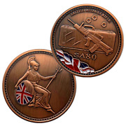 British Military Army Assault Rifle Sa80 Sniper Commemorative Coin Collectible