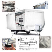 Shieldall™ Lance 2212 Toy Hauler Travel Trailer Camper Cover With Zipper Access