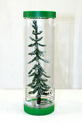 Lemax Christmas Village Collection Tree Snow Railroad Accessories 8 Tall Thin