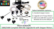 Sherline Pn 6701 Inch 5400/5000 Mill Cnc Upgrade Kit With Stepper Motors