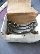 Complete Set Rear Brake Shoes American Ford Motors Classic Nos