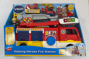 Helping Heroes Fire Station Playset With Two Firefighters, Music And Sounds Vtech