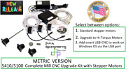 Sherline Pn 6711 Metric 5410/5100 Mill Cnc Upgrade Kit With Stepper Motors