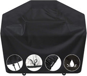 Bbq Gas Grill Cover 58 Waterproof For Weber Char-broil Nexgrill Brinkmann